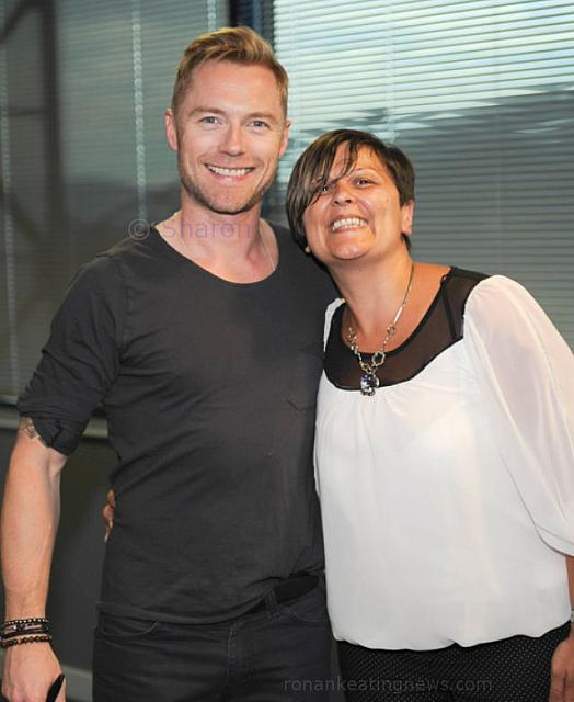 Sharon with Ronan