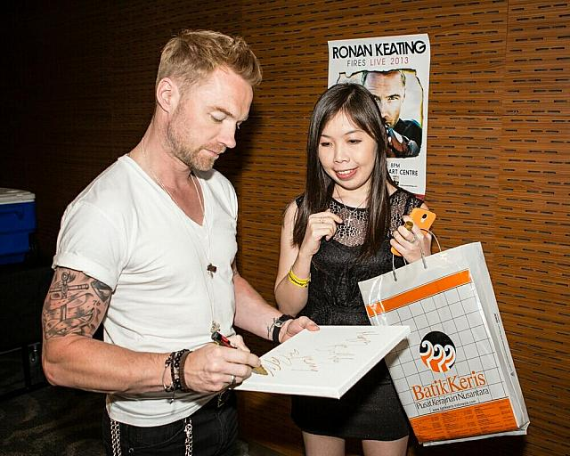 Yenny with Ronan